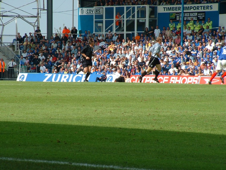 Pompey v Milwall, September 2002